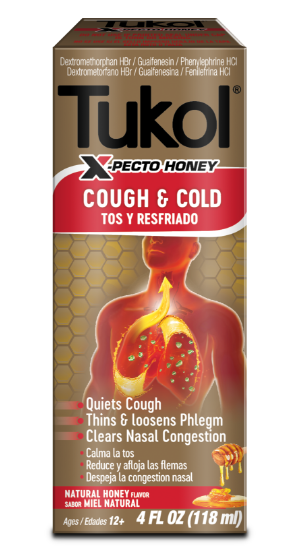 HONEY-FLAVORED COUGH & COLD